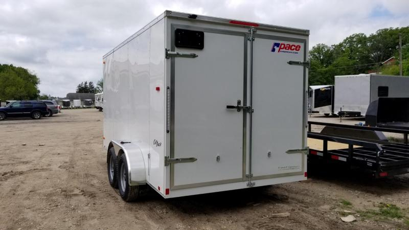 2019 Pace 7x14 Outback Enclosed Cargo Trailer 7k