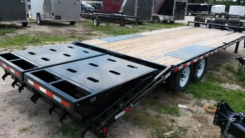 2019 Sure-Trac 8.5x20+5 Deckover Equipment Trailer 14k