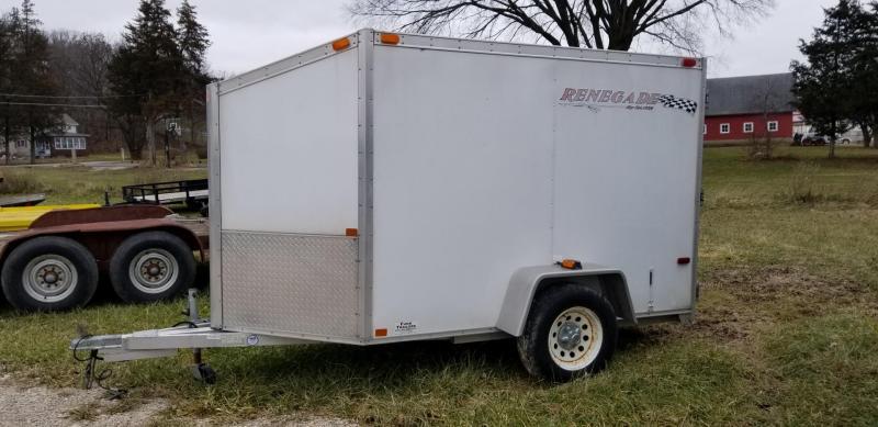 2005 Renegade 5x8 Enclosed Cargo Trailer 2k