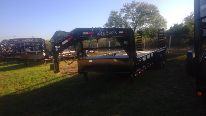 2019 Load Trail 83X24 Gooseneck Triple Equipment Trailer