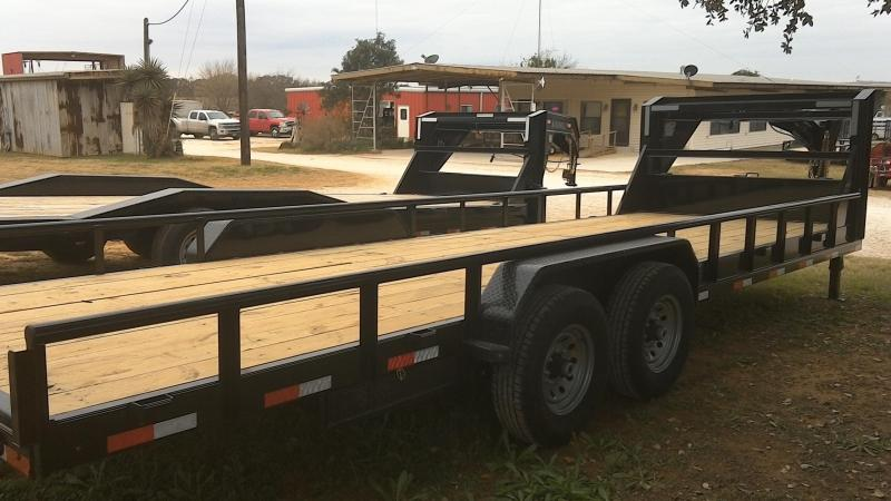 2019 Lamar Trailers 83X24 Gooseneck Equipment Trailer