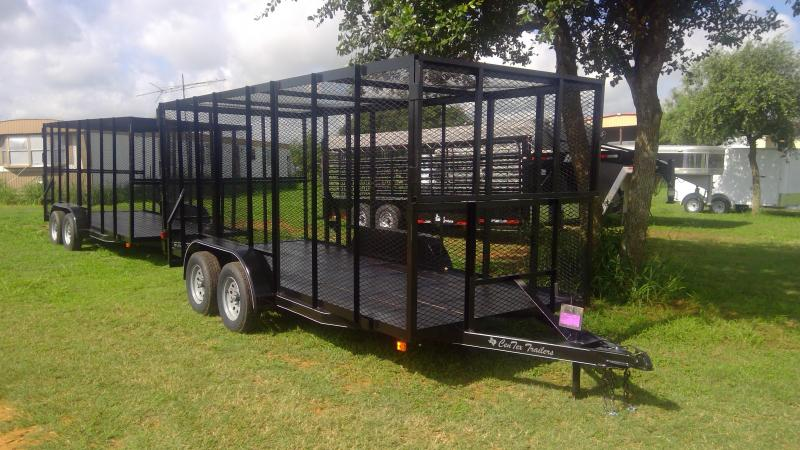2019 Centex Trailers 76X16 Trash Box Utility Trailer