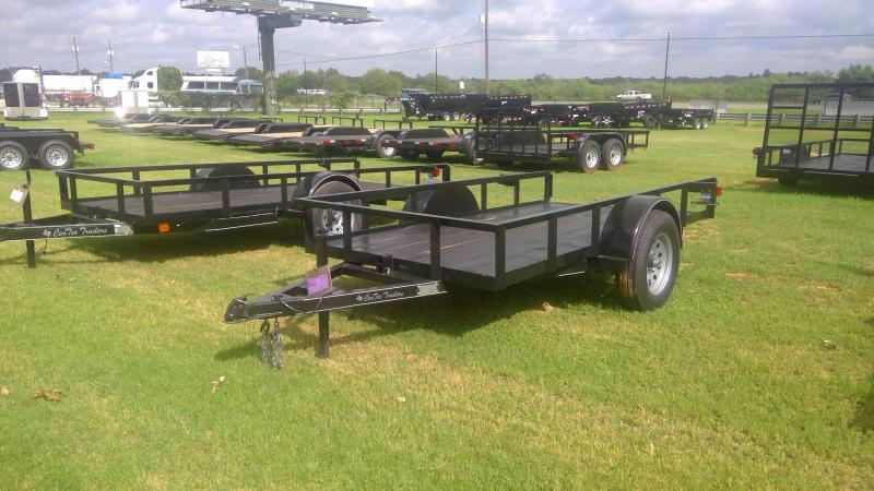 2019 Centex Trailers 5X10 Single Axle Tilt Utility Trailer