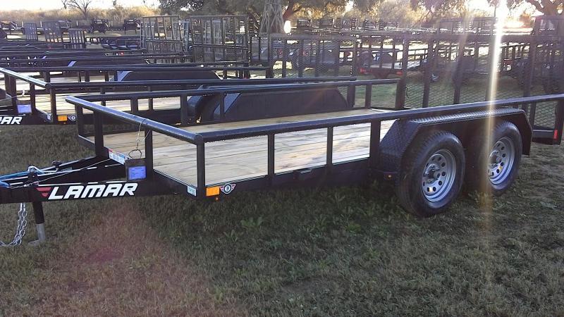 2019 Lamar Trailers 83X14 Tandem Axle Utility Trailer