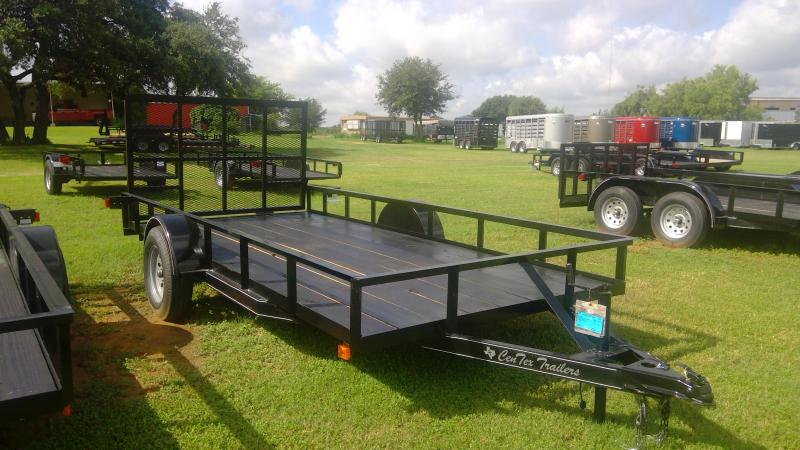 2019 Centex Trailers 76X14 Single Axle Utility Trailer