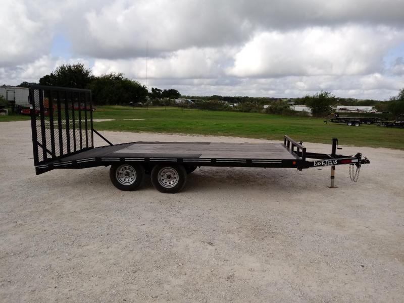 2016 East Texas 102X16 Tandem Utility Trailer