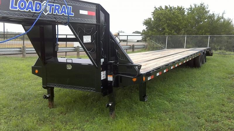 2019 Load Trail 102X40 Tandem Dual Gooseneck Flatbed Trailer