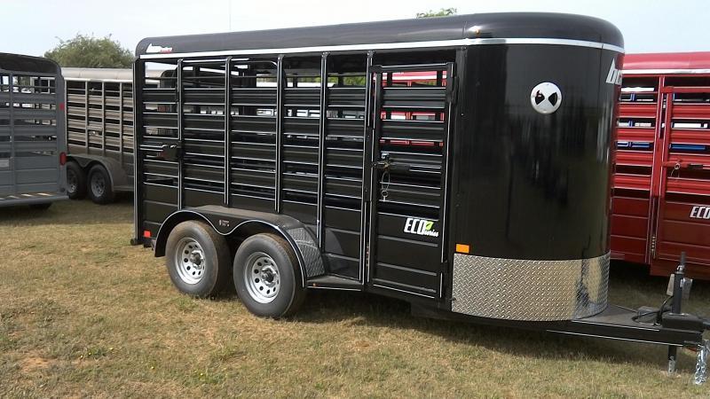 2019 BCI Trailers 5X14 Tandem Livestock Trailer