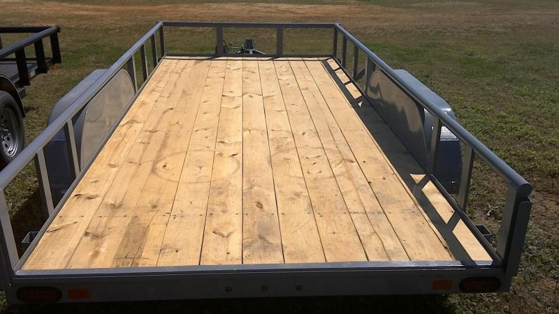 2019 BCI Trailers 83X16 Tandem Axle Utility Trailer