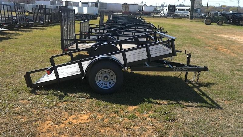 2019 Centex Trailers 76X10 Single Axle Tilt Utility Trailer
