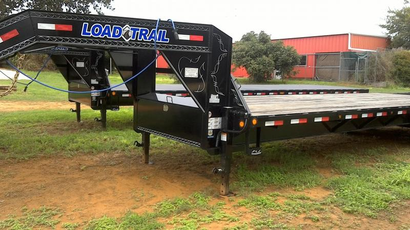 2018 Load Trail 102X30 Tandem Deck Over Gooseneck Flatbed Trailer