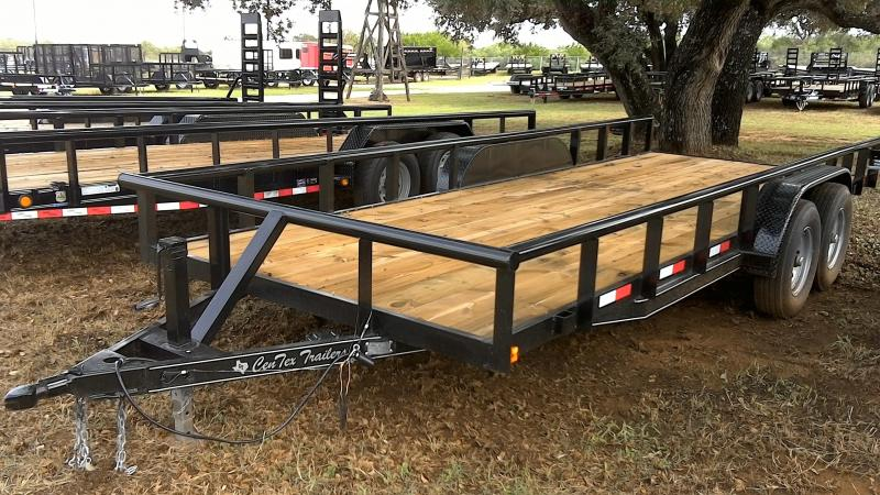 2018 CenTex 82X20 Heavy Duty Utility Trailer
