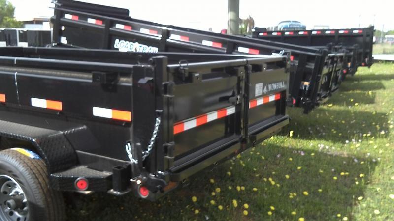 2019 Norstar 83X14 Bumper Pull Dump Trailer