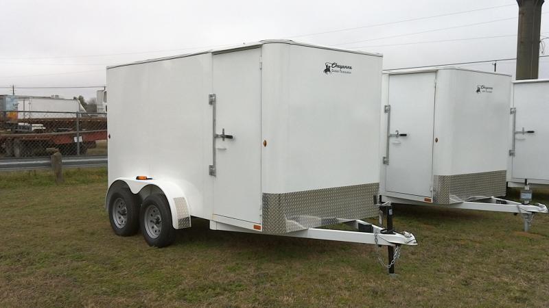 2019 Cheyenne 6X12 Tandem Axle Enclosed Cargo Trailer