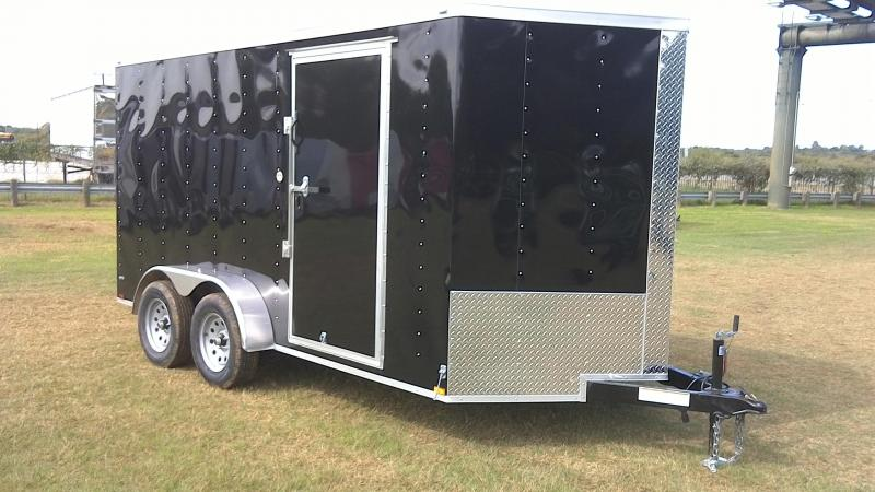 2019 Lark 7X14 Tandem Enclosed Cargo Trailer