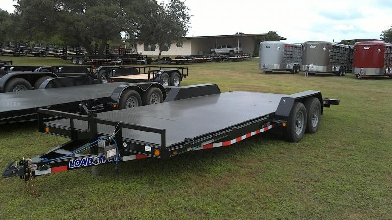 2019 Load Trail 83X20 Heavy Duty Steel Deck Car / Racing Trailer