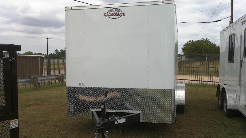 2020 Cargo Mate 7X16 Tandem Office Enclosed Cargo Trailer