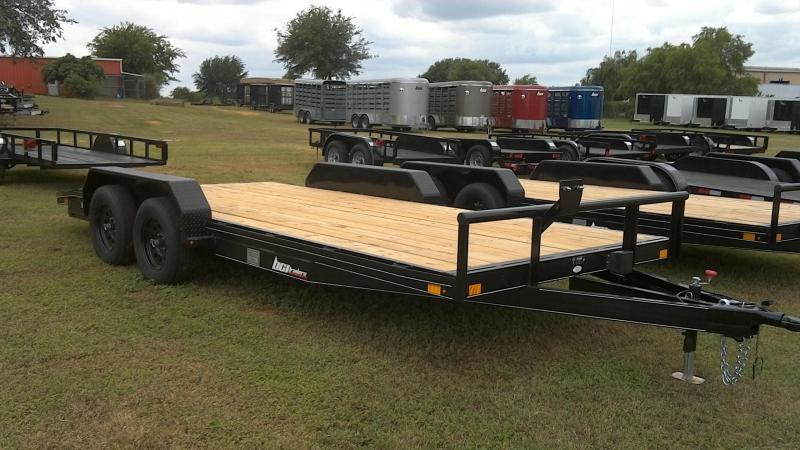 2019 BCI Trailers 83X18 Tandem Car / Racing Trailer