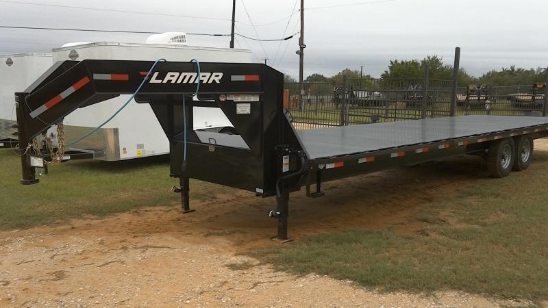 2018 Lamar Trailers 102X30 Gooseneck Equipment Trailer
