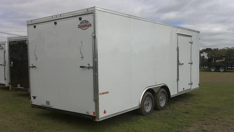2019 Cargo Mate 8.5X20 Tandem Enclosed Cargo Trailer