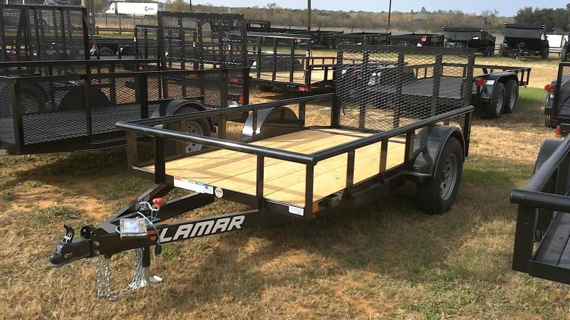 2019 Lamar Trailers 5X10 Single Axle Utility Trailer