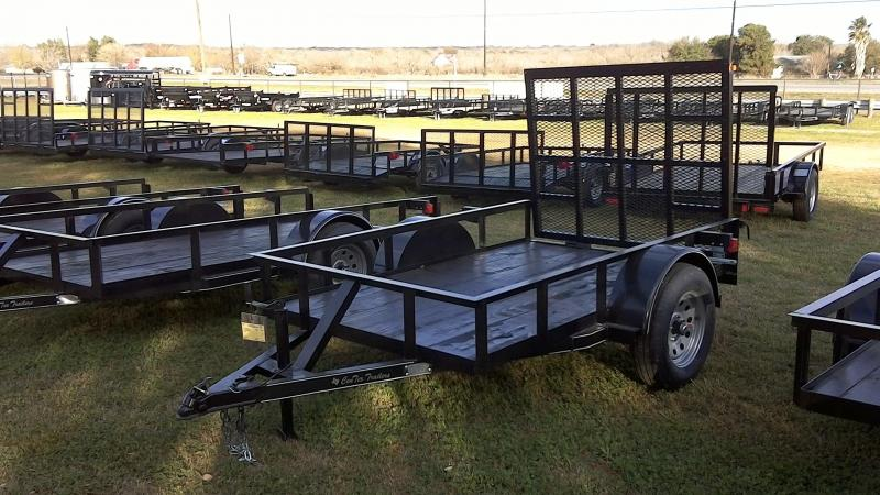 2019 Centex Trailers 5X8 Single Axle Utility Trailer