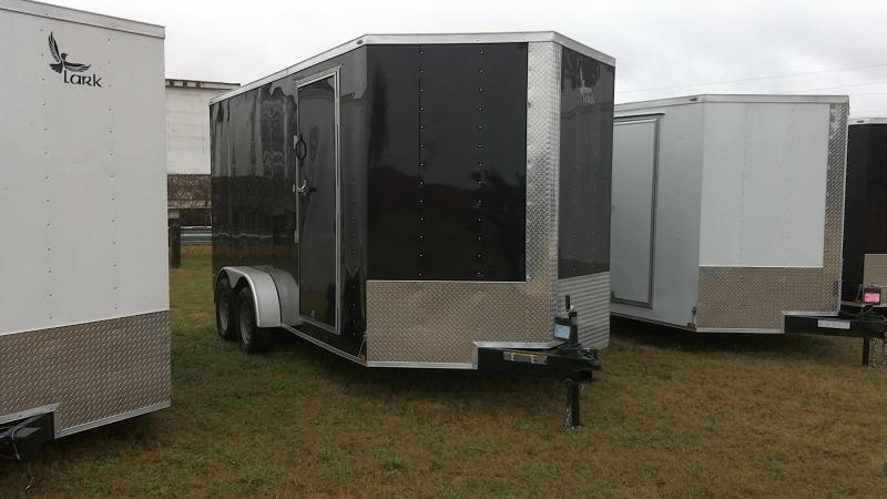 2019 Lark 7X16 Tandem Enclosed Cargo Trailer