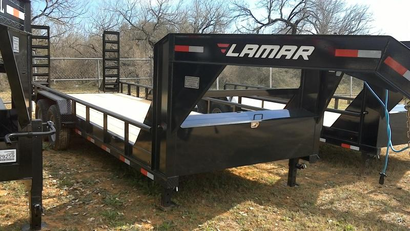 2019 Lamar Trailers 83X20 Gooseneck Equipment Trailer
