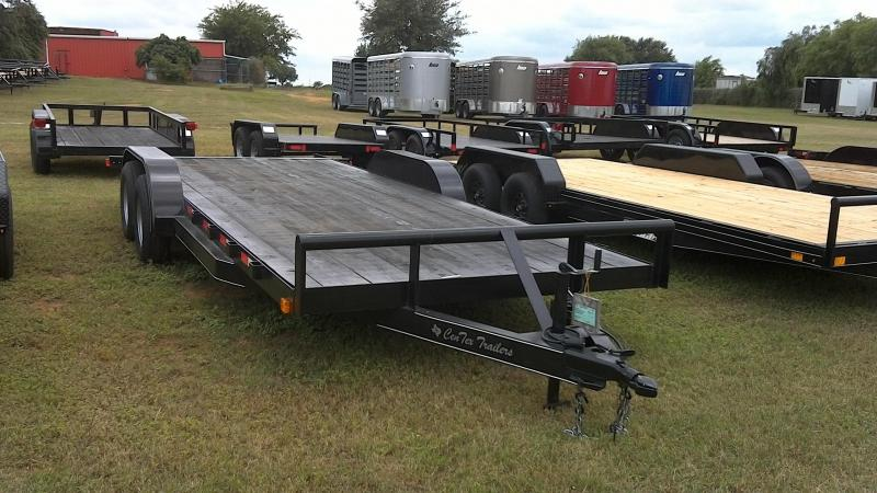 2019 Centex Trailers 82X20 Tandem Car / Racing Trailer