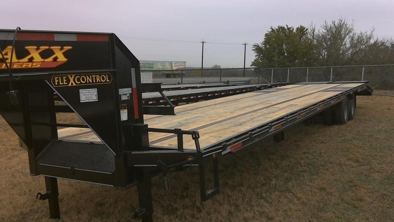 2019 Traxx 102X355 TA Dual Gooseneck Equipment Trailer