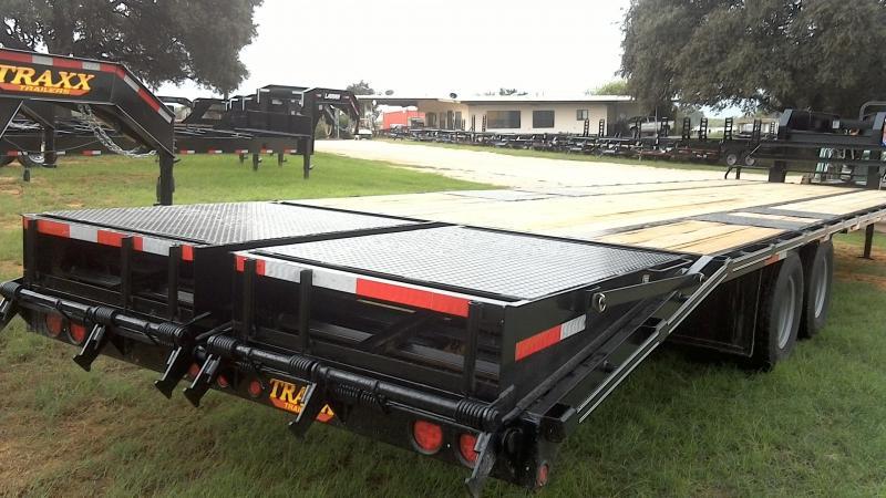 2018 Traxx 102X35 Tandem Dual Gooseneck Flatbed Trailer