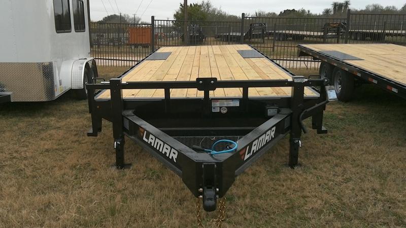 2019 Lamar Trailers 102X24 Deck Over Equipment Trailer
