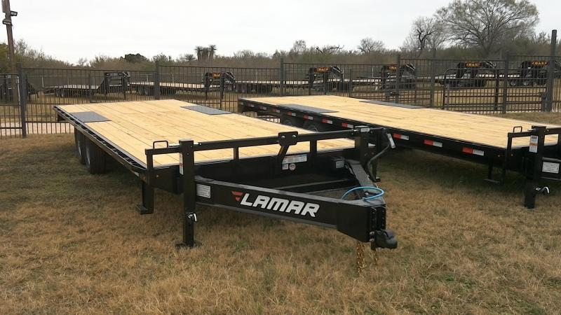 2019 Lamar Trailers 102X24 Deck Over Equipment Trailer