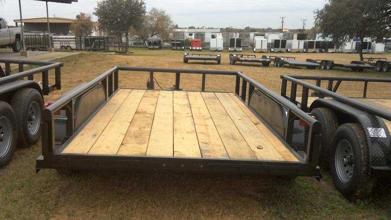 2019 Centex Trailers 82X12 Heavy Duty Utility Trailer