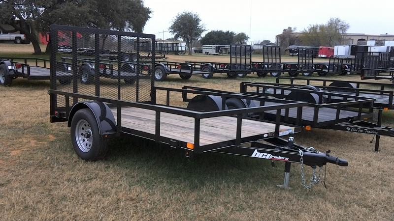 2019 BCI Trailers 77X10 Single Axle Utility Trailer