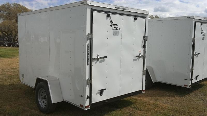 2019 Lark 6X10 Single Axle Enclosed Cargo Trailer
