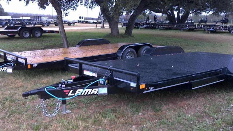 2019 Lamar Trailers 83X18 Steel Deck Car / Racing Trailer