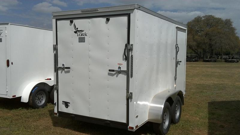 2019 Lark 6X12 Tandem Enclosed Cargo Trailer