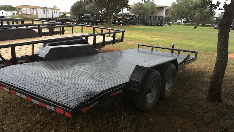 2019 Lamar Trailers 83X18 HD Steel Deck Car / Racing Trailer