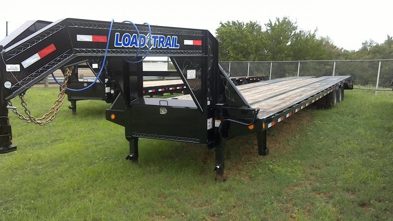 2018 Load Trail 102X40 Tandem Dual Gooseneck Flatbed Trailer