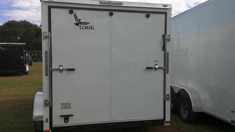 2019 Lark 7X14 Tandem Enclosed Cargo Trailer