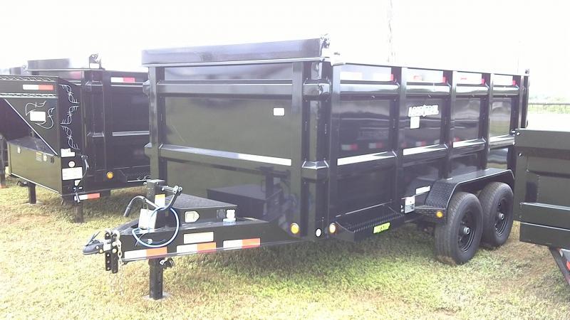 2019 Load Trail 83X14 TA Bumper Pull Dump Trailer