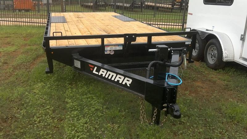2019 Lamar Trailers 102X20 Deck Over Flatbed Trailer