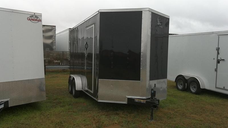 2019 Lark 7X16 Tandem Enclosed Cargo Trailer