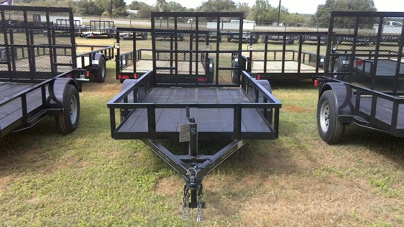 2018 CenTex 5X10 Single Axle Utility Trailer