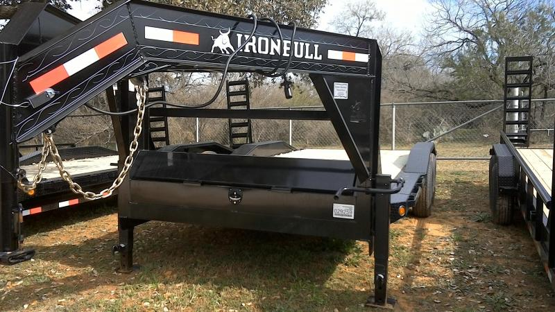 2019 Iron Bull 102X20 Gooseneck Equipment Trailer