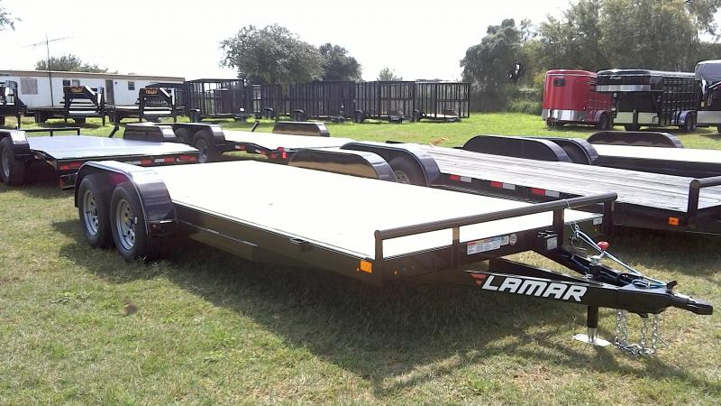 2018 Lamar Trailers 83X18 Econo Car / Racing Trailer