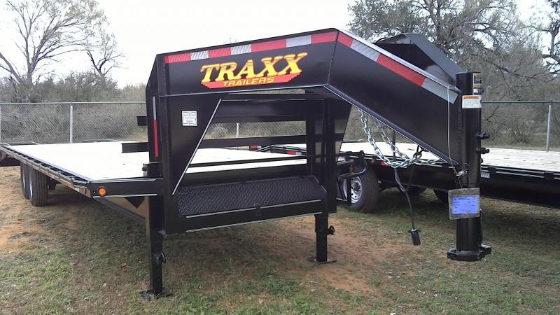2019 Traxx 102X255 Gooseneck Equipment Trailer