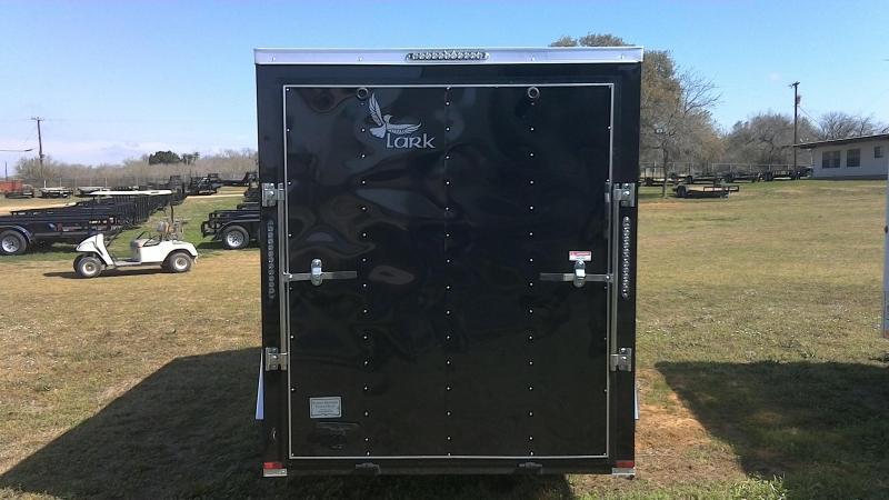 2019 Lark 6X12 Single Axle Enclosed Cargo Trailer