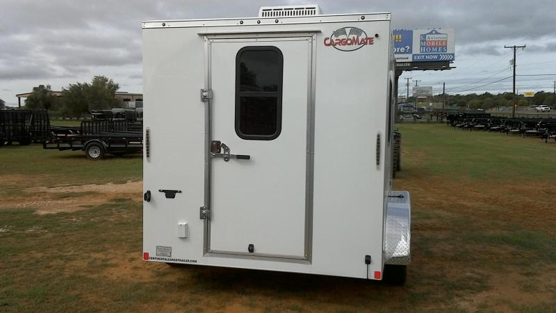 2019 Cargo Mate 7X12 TA A/C Enclosed Cargo Trailer